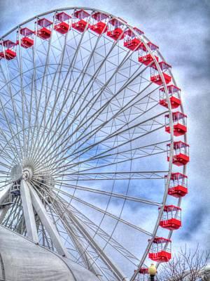 Digital Art - Wheel Of Love by Barry R Jones Jr