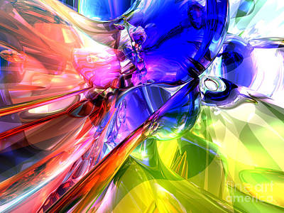 Purple Grapes Digital Art - When Rainbows Collide by Alexander Butler