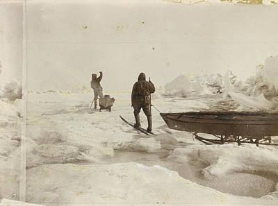 When The Fram Did Not Reach The North Print by Fridtjof Nansen