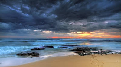 Grey Clouds Photograph - Where One Once Stood by Mark Lucey