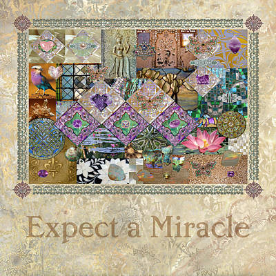 Dancer Relief Digital Art - Whimsical Expect A Miracle by Susan Ragsdale