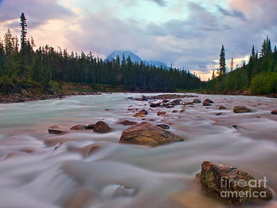 Whirlpool River Print by James Steinberg and Photo Researchers