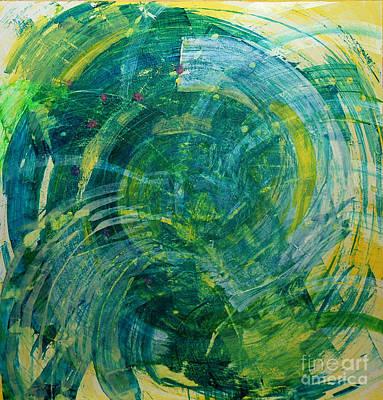 Www.artworkxofmann.com Mixed Media - Whirlwind by Annette  Gardiner