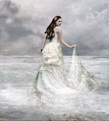 Starfish Digital Art - Whispered Waves by Mary Hood