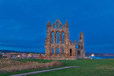 Whitby Abbey Print by Gary Finnigan