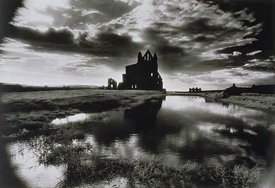 Dracula Photograph - Whitby Abbey by Simon Marsden