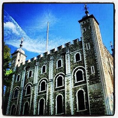 Dungeon Photograph - White Tower #toweroflondon #london by Chris Barber