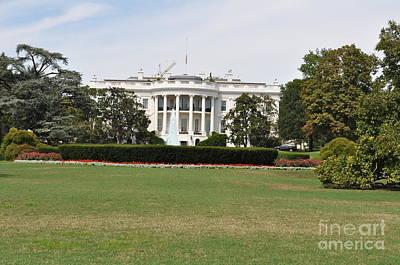 Lenora Berch Photograph - Whitehouse by Lenora Berch