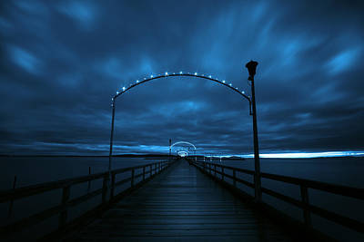 Vancouver Photograph - Whiterock Pier by James Ingham