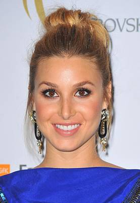 Hair Bun Photograph - Whitney Port At Arrivals For The 2nd by Everett