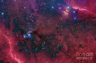 Widefield View In The Orion Print by John Davis