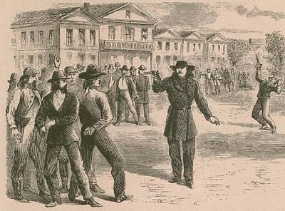 Wild Bill Hickok Was A Gunfighter Print by Everett