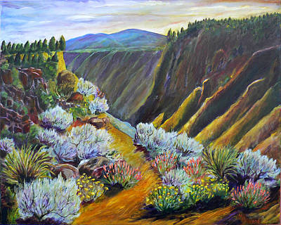 Grande Painting - Wild Rivers New Mexico by Mark Malone