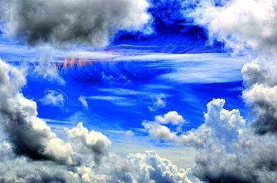 Wild Sky Print by Bob Jackson
