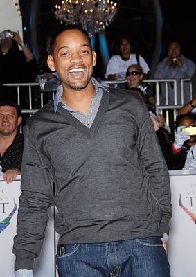 Nokia Theatre La Live Photograph - Will Smith At Arrivals For Michael by Everett