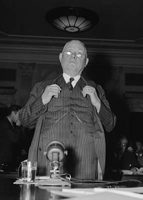 William Green 1873-1952, President Print by Everett