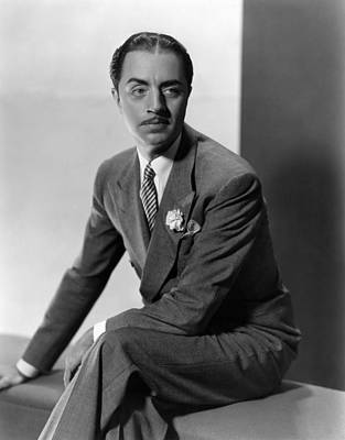 William Powell, Ca. 1930s Print by Everett