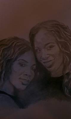 Serena Williams Drawing - Williams Champions Of Life by B Jaxon