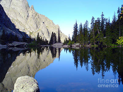 Willow Lake Afternoon Print by Scotts Scapes