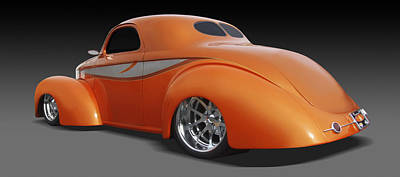 Drag Digital Art - Willys by Mike McGlothlen