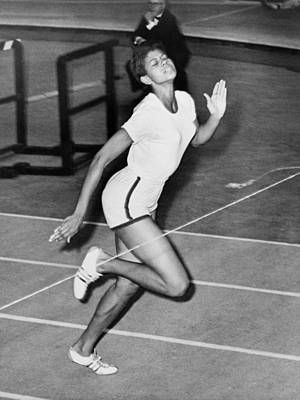 Wilma Rudolph Sets A World Record Print by Everett
