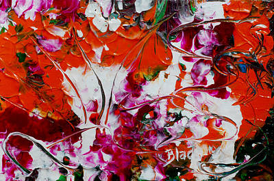 Wilted Flowers Print by Donna Blackhall