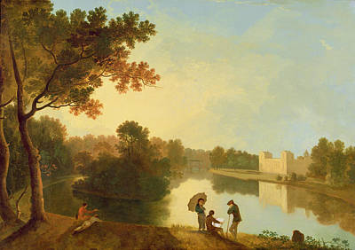 Park Scene Photograph - Wilton House From The South-east by Richard Wilson