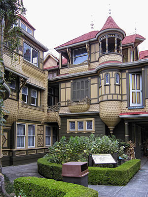 Winchester House - Door To Nowhere Print by Daniel Hagerman