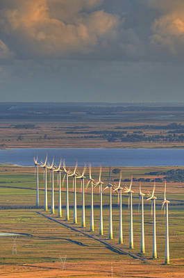 Wind Energy Print by by Roberto Peradotto