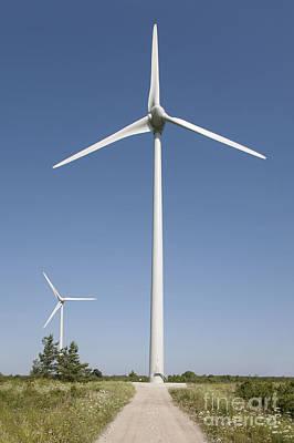 Wind Turbines Print by Jaak Nilson