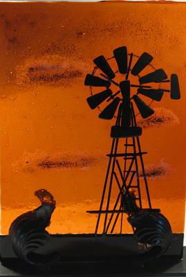 Windmill Print by Lisa Kohn