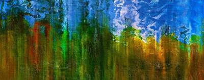 Abstract Windmill Mixed Media - Windmills In My Mind by Georgiana Romanovna