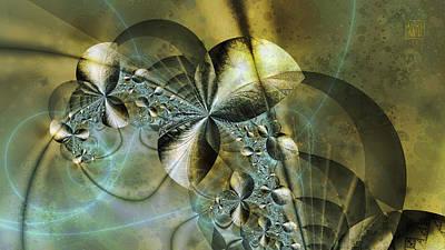 Abstract Windmill Digital Art - Windmills Of The Gods by Dan Turner