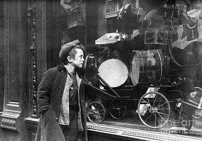 Toy Shop Photograph - Window Display, C1910 by Granger