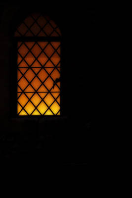 English Cathedrals Photograph - Window Into A Troubled Soul by Lisa Knechtel