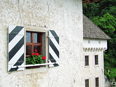 Window Ledge Predjama Castle Predjama Slovenia Print by Joseph Hendrix