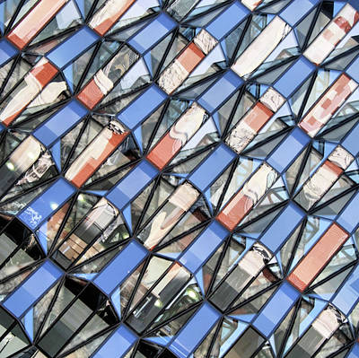 Glass Reflection Photograph - Window Shopping by Andrea Kennard Photography