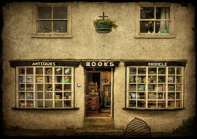 Knaresborough Photograph - Window Shopping by Evelina Kremsdorf