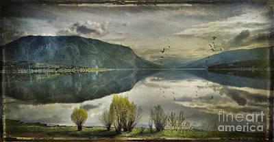 Window View Print by Kym Clarke