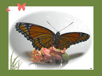 Wings Of Beauty Print by Debra     Vatalaro