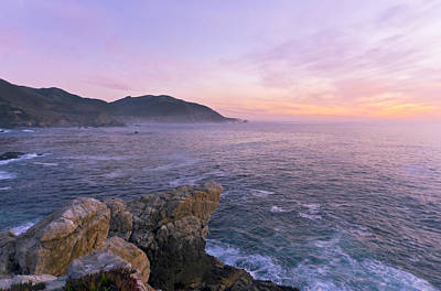 Big Sur California Photograph - Winter Color In Big Sur by Priya Ghose
