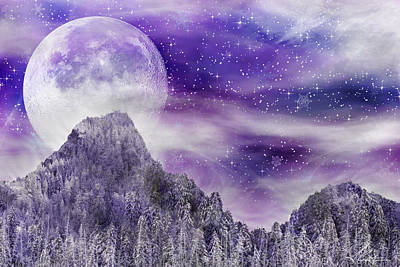 Winter Dreamscape Print by Anthony Citro