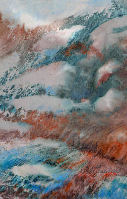Painting - Winter Drifts by Adele Greenfield