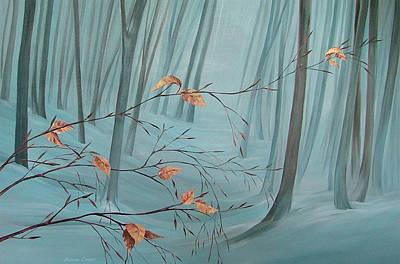 Winter Forest Original by Natasha Denger