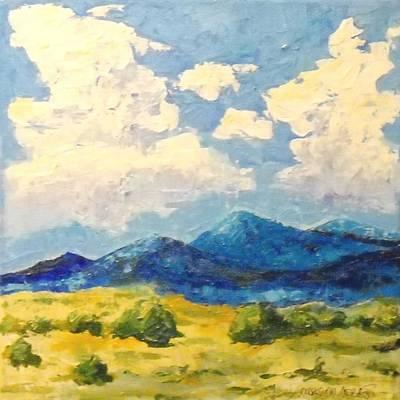 Maryann Painting - Winter Is Coming by MaryAnn Ceballos