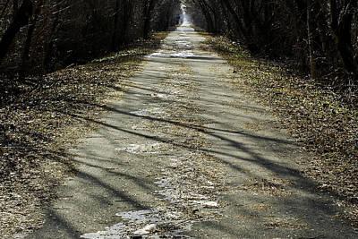 Rural Photograph - Winter On Macomb Orchard Trail by LeeAnn McLaneGoetz McLaneGoetzStudioLLCcom