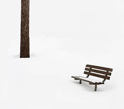 Winter Scene Print by Steve Gadomski