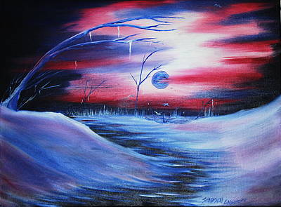 Winter's Frost Print by Shadrach Ensor