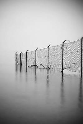 Separation Photograph - Wire Mesh Fence by Joana Kruse