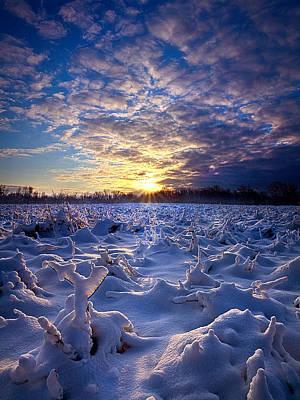 Wisconsin's Winter Wonderland Print by Phil Koch